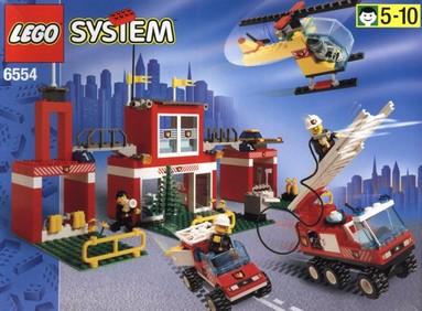 Nostalgie : LEGO 6554-1