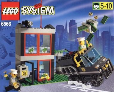 Nostalgie : LEGO 6566-1