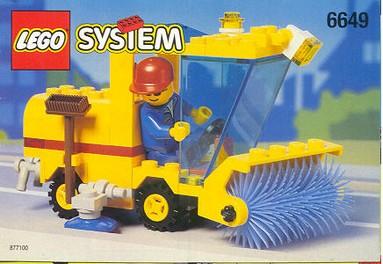 Nostalgie : LEGO 6649-1