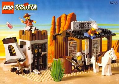 Nostalgie : LEGO 6755-1