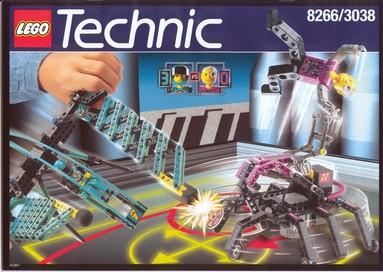 Nostalgie : LEGO 8266-1
